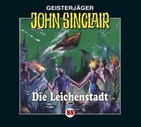 """Preisalarm! * HÖRSPIEL CD * JOHN SINCLAIR """"Die Leichenstadt"""" 88 * NEU/OVP"""