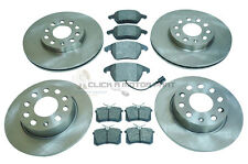 AUDI A3 MK2 2.0 TDI S-LINE FRONT AND REAR BRAKE DISCS & PADS (CHECK SIZE)
