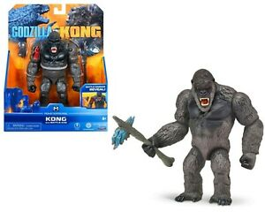 Monsterverse Godzilla vs Kong 15cm King Kong with Axe Action Figure