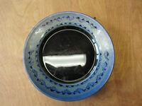 "Arcoroc France YUCATAN Dinner Plate 10 3/4"" Blue Black 1 ea   6 available"