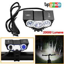 3 x CREE XM-L T6 LED Bicycle bike HeadLight Head Light Lamp Torch Flashlight USA