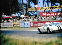 1962 LE MANS 24 HOURS HEURES FERRARI 250 GT SWB BERTONE GEORGE REED ED HUGUS A