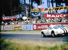 1962 LE MANS 24 ore Heures FERRARI 250 GT + SWB BERTONE George Reed ed Hugus un