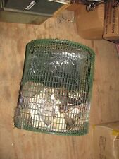 1 NEW ROLLING RACCOON CAGE TRAPS COON DOG