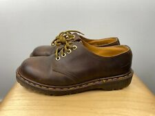Dr Martens 4 Eye Gibson Men's 7 Lace Up Oxford 1561 / 59 Brown Leather Airwair