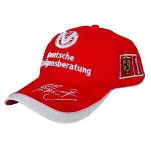Michael Schumacher 2005 DVAG Ferrari Sponser Cap - Formula One - New - F1