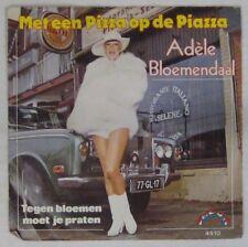 Pochette Auto  45 tours Adele Bloemendaal 1981