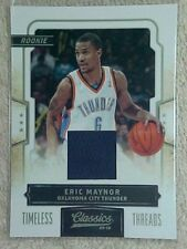 ERIC MAYNOR 2009-10 TIMELESS THREADS ROOKIE JERSEY CARD #178 084/265