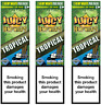JUICY ORGANIC WRAPS Rolling Papers 3 Pack (6pcs) Passionfruit (Tropical)