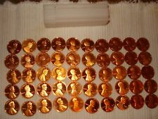 1975 Proof Lincoln Cent Roll of 50 San Francisco Mint