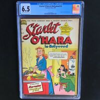 Starlet O'Hara in Hollywood #4 💥 CGC 6.5 💥 ONLY 1 HIGHER! Standard Comics 1949