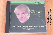 Per Norgard - Partita Concertante Canon Trepartita - Orgue - CD Kontrapunkt
