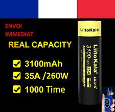 2 piles! 18650 lithium-ion 3,7V LIITOKALA 35A cigarette électronique Lii-31s+