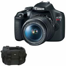 Canon Eos Rebel T7 24.1Mp Digital Slr Camera, Ef-S 18-55mm Is Ii Lens and Bag