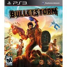 Bulletstorm For PlayStation 3 PS3 Shooter Very Good
