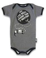 BABY ROMPER ROCKABILLY GIFT BABY SHOWER SIX BUNNIES BOYS GIRLS TATTOO 9 MONTHS