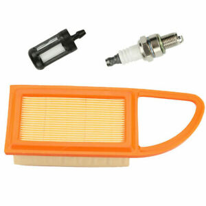 QHALEN Air Fuel Filter And Spark Plug Kit For STIHL BR500 BR550 BR600 Chainsaw