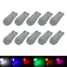 10x RGB RV T10 W5W Malibu Landscape Light Wedge Lamp Ceramic 1 COB SMD LED A072