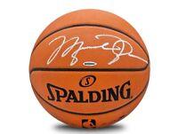 MICHAEL JORDAN Hand Signed (Silver) Authentic Spalding Basketball UDA