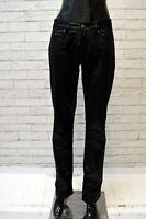 Pantalone MARLBORO CLASSICS Lucido Donna Taglia 29 Jeans Pants Woman Nero