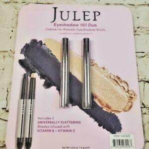 Julep Eyeshadow Stick Champagne Shimmer Midnight 101 Cream To Powder Waterproof