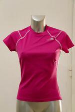 carino t-shirt elasticizzato rosa e grigio THE NORTH FACE vapor wick Taglia M/M