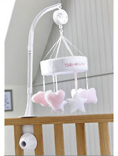 Brand new in box Clair de lune little dreams cot musical mobile in pink