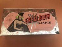 BENEFIT COSMETICS Great Brow Basics Pencil & Gel Set Shade 3 **100 % Authentic**