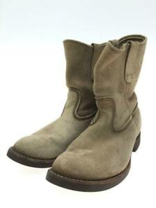 Red wing Pecos Us7 Beg Beg Swedo Beige Size 7 Fashion boots From Japan