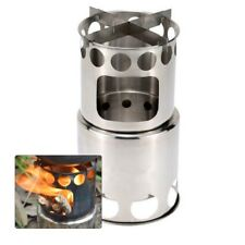 Outdoor Portable Lightweight Stainless Steel Wood Burning Camping Stove