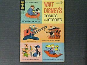 Walt Disney's Comics and Stories #264 Gold Key Comics 1962 Poughkeepsie - VG