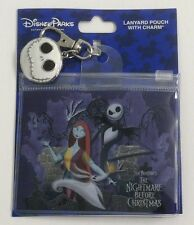 Nightmare Before Christmas Lanyard Pouch with Jack Skellington Charm Disney