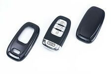 Audi Remote Flip Key Cover Case Skin Shell Cap Fob Protection Hull S Line Black-