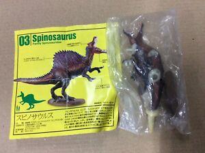 UHA Kaiyodo Dinotales 5 Spinosaurus B Dinosaur Figure RARE NEW Sealed