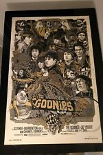 The Goonies - Tyler Stout - Gold Variant Signed, Numbered, Stamped Mondo artist