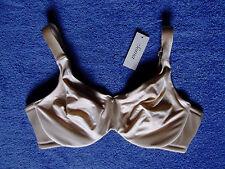 Soma Intimates 38D Minimizer 1 inch Bra Side Slimming Light Nude