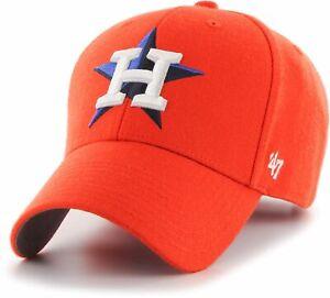 Houston Astros MLB MVP Orange Pop Cap Hat Adjustable Strapback Baseball Men's H*