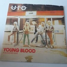 "UFO - Young Blood - Red Vinyl 7"" Single UK 1st Press VG+/EX"