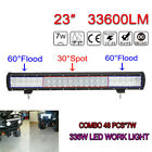 23inch Osram 336W Combo LED Light Bar For Offroad 4WD Truck SUV Driving Lamps