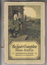 1925 BOOKLET - THE LAND OF EVANGELINE NOVA SCOTIA - DOMINION ATLANTIC RAILWAY