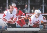 2014-15 SP Authentic Hockey #200 Guy Lafleur/Marcel Dionne All-Time Moments