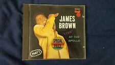 JAMES BROWN - LIVE AT THE APOLLO PART 1. CD POLYDOR