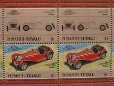 1936 JAGUAR SS100/SS-100 Sports Car 50-Stamp Sheet Auto 100 Leaders of the World