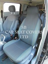 TO FIT A TOYOTA STARLET, CAR SEAT COVERS, YARO BLUE FLECK - 2 FRONTS