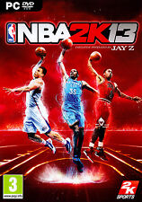 NBA 2K13 Basketball- 2013 PC DVD  ROM - Handbuch Deutsch Text Deutsch NEU & OVP