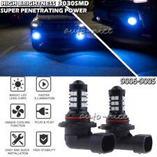 2x Blue 30SMD 9006 LED Fog Light Bulb For 2007-2012 Mazda 3 High Power Upgrade