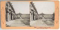 Nancy Il Théâtre E L Hotel De Ville Foto Stereo Vintage Albumina c1870