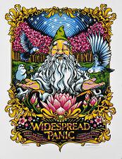 Widespread Panic poster Ntelos Pavilion Charlottesville, Va 4/28/16