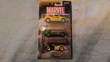 Maisto Marvel Series 2 Collection #5 of 8 set of 3 Diecast Collecction.