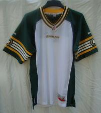 Reebok Edmonton Eskimos Jersey CFL Premier Authentic Away White NTW